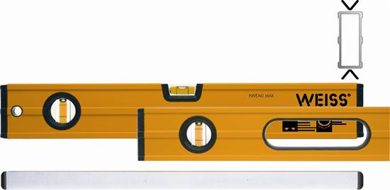 Weiss MAX type 89G , lengte 80 cm. met 2 greepopeningen