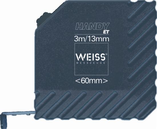 Pocket rolmaten Type Weiss Handy ET 3 , lengte 3m.
