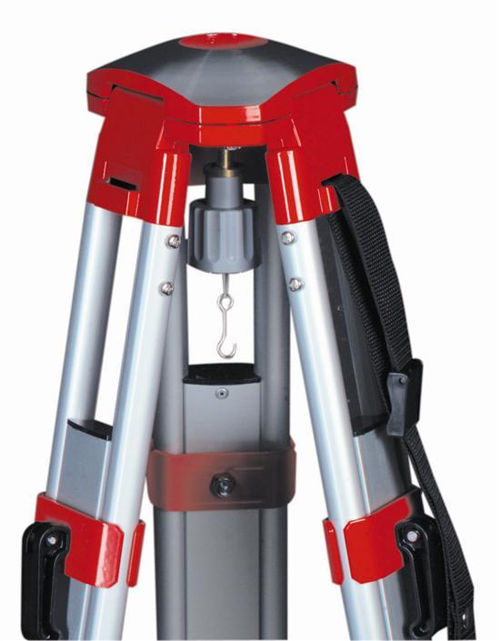 GLUNZ alu standaard G 10K 1,10m.- 1,75m. ,kogelkop