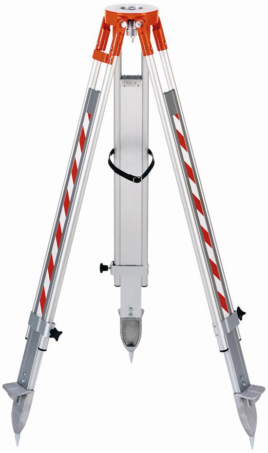 GLUNZ alu G3M-168 1,15m.- 1,85m. ,vlak , schroefklemmen