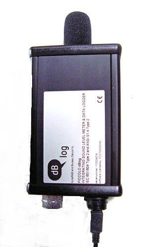 dB-log 2  geluidsmeterset conform VLAREM wetgeving