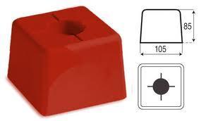 Feno grenspaal grote kop 105/105/85-500