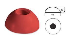 Feno grenspaal rond diameter 115/40-350